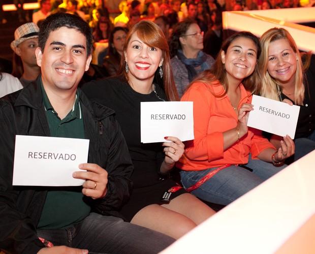 convidados plateia (Foto: Dafne Bastos/ TV Globo)
