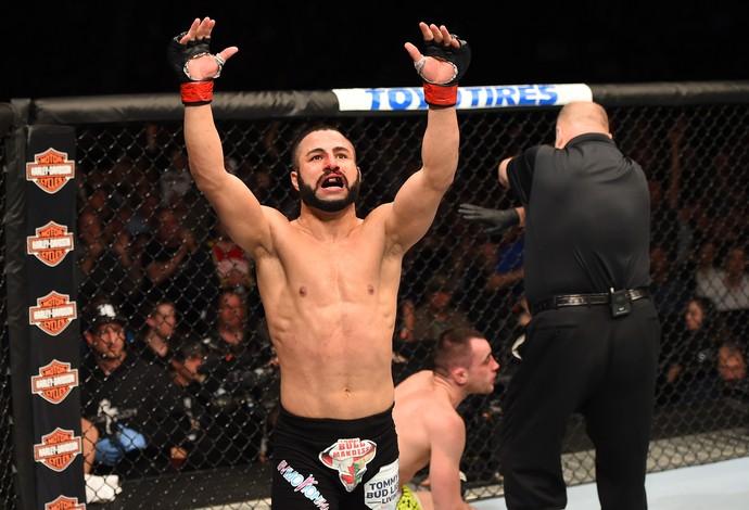 John Makdessi Shane Campbell UFC 186 (Foto: Getty Images)