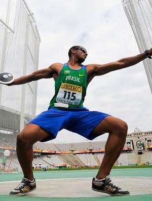Felipe dos Santos, decatlo, Mundial Juvenil de Atletismo, Barcelona (Foto: Agência Getty Images)