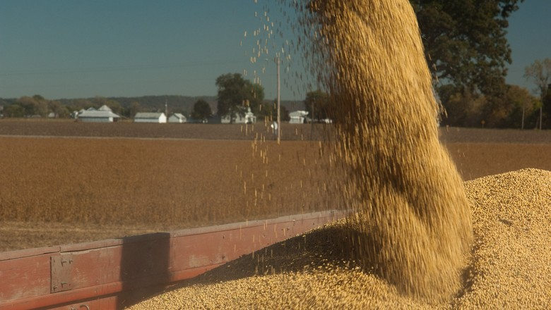 colheita-de-soja-graos-agricultura (Foto: United Soybean Board/CCommons)