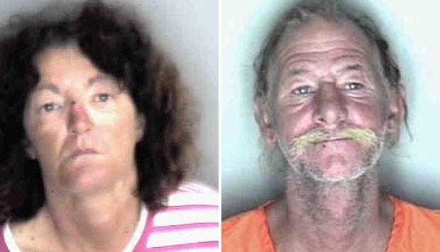 Adam Pizzolato e Rita Brunsell são acusados de exposição indecente. (Foto: Divulgação)