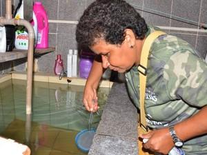 Água parada é o principal criadouro do mosquito (Foto: Divulgação/ Semus)