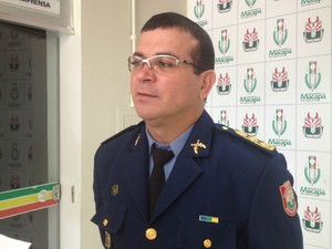 Comandante Guarda Municipal de Macapá Ubiranildo Macedo (Foto: Abinoan Santiago/G1)