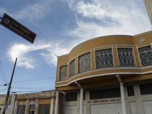 Cine Teatro Benedito Alves deve ser reaberto no primeiro semestre de 2013 (Foto: Suellen Fernandes/G1)