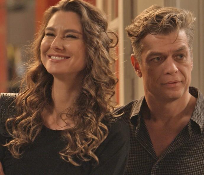 Arthur fica surpreso ao ver Gabriel (Foto: TV Globo)