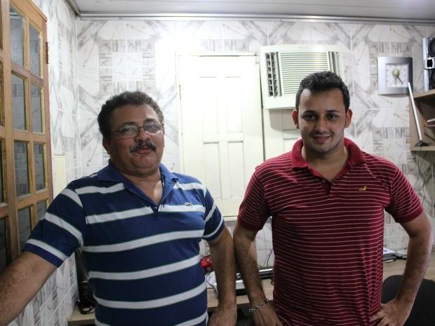 Alfredo Araújo e Eduardo Mazzoni são dois dos criadores do Eco Fusca (Foto: Divulgação / Acervo pessoal)