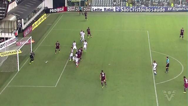 Peixe sofreu a sua segunda derrota seguida dentro de casa: 1 a 0 (Foto: Reprodução/TV Tribuna)