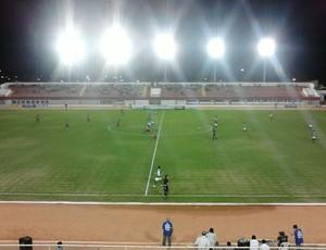 Palmeira e Potyguar se enfrentaram no Estádio Nazarenão, em Goianinha, pelo Campeonato Potiguar (Foto: Jocaff Souza)