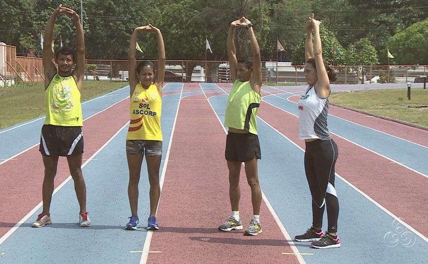 Atletas ganharam medalhas, troféus e sete mil reais em dinheiro (Foto: Jornal do Amazonas)