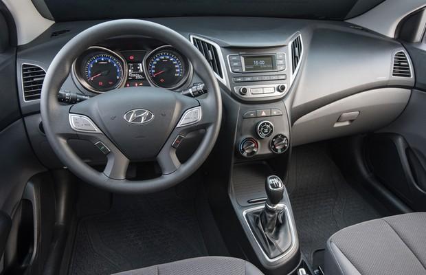 Hyundai HB20 S 1.0 turbo interior (Foto: Divulgação)