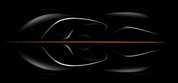 McLaren BP2 teaser (Foto: Divulgação)