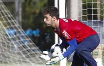 Novo titular do gol, Rafael renova com o Cruzeiro por mais três temporadas