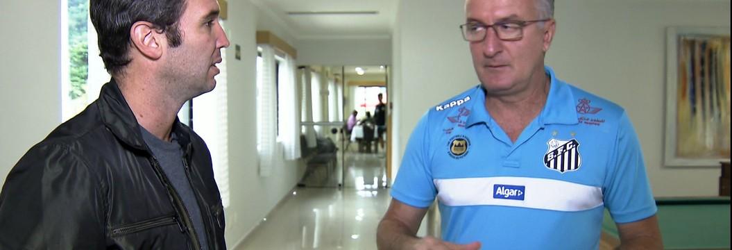Caio Ribeiro invade concentração do Santos e mostra rotina dos atletas