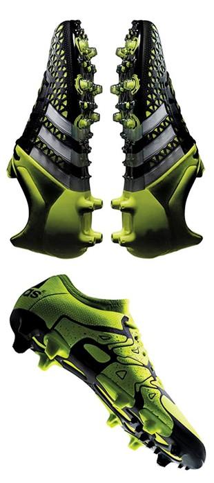 2c1d72e7bc2b0 Conheça as chuteiras Ace e X, da adidas, usadas por craques da Série A