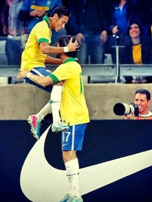 Neymar e Pato (Foto: Reprodução / Instagram)