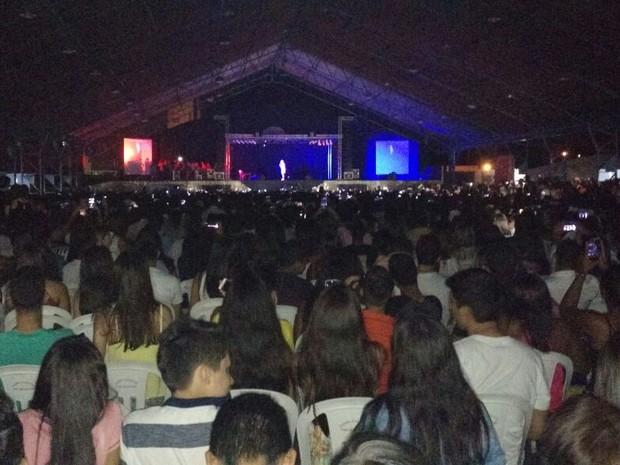 Mais de seis mil pessoas compareceram ao evento (Foto: Lucas Cunha/Arquivo Pessoal)