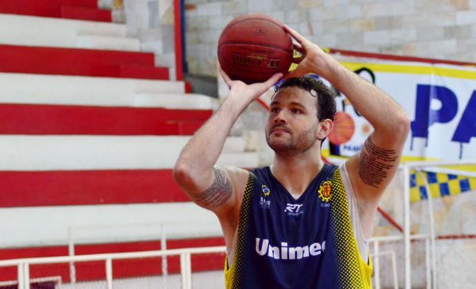 Caio Torres São José Basquete (Foto: Danilo Sardinha/GloboEsporte.com)