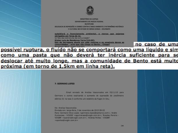 Inquérito Samarco (Foto: Reprodução)