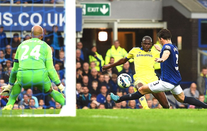 Ramires gol Chelsea x Everton (Foto: Getty Images)