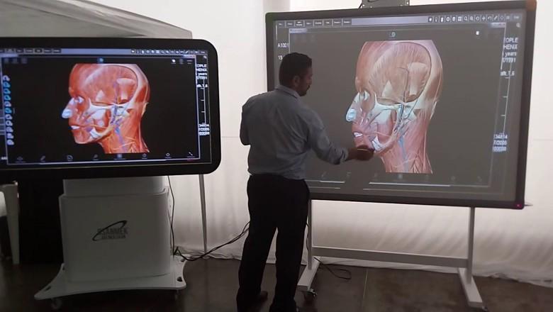 simulador 3D da Csanmek (Foto: Divulgação)