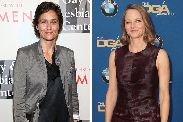 Alexandra Hedison e Jodie Foster (Foto: Getty Images)