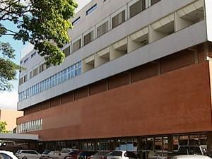 Hospital de Clinicas UFU Uberlândia (Foto: Reprodução/TV Integração)