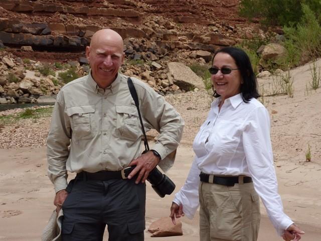 Sebastião Salgado e Wanick Salgado (Foto: Marsha Williams)