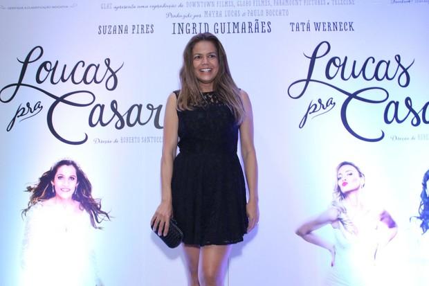 Nívea Stelmann em pré-estreia no Rio (Foto: Claudio Andrade e Thyago Andrade / Foto Rio News)
