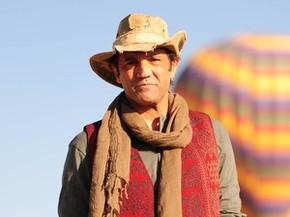 Domingos Montagner como o personagem Zyah, da novela 'Salve Jorge' (Foto: Alex Carvalho/TV Globo)