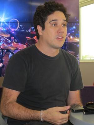 Rogério Flausino, do Jota Quest (Foto: Fabiana Lavinas/Divulgação)