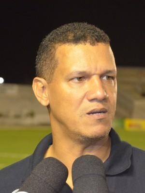 Cleibson Ferreira; Treinador; Atlético de Cajazeiras; (Foto: Elias Almeida / TV Cabo Branco)