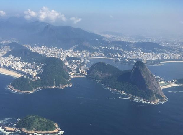 Não há previsão de chuva para este domingo (10) no Rio (Foto: Bernardo Portugal/ TV Globo)