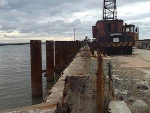 São 37 anos de obras e mais de R$ 390 milhões já foram gastos (Foto: Jordana Lima)
