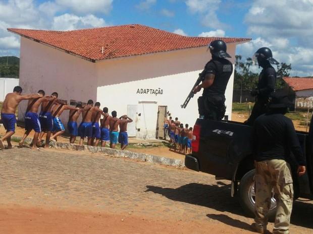 Sistema prisional potiguar está em calamidade desde março de 2015 (Foto: Anderson Barbosa/G1)
