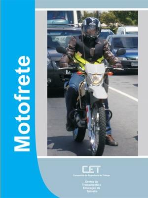 Apostila do curso da CET-SP para motoboys, que é gratuito (Foto: Divulgação)