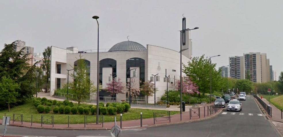 Mesquita em Creteil (Foto: Reprodução/Google Street View)