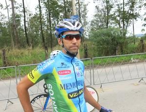 Ciclista Robson Dias de Santos (Foto: Bruno Gutierrez)