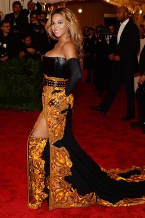 Beyoncé no MET (Foto: AFP)