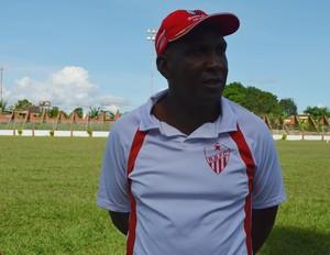 Técnico do Rio Branco-AC, Luís Carlos (Foto: Nathacha Albuquerque)