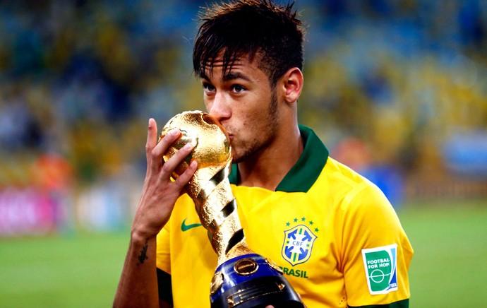 Neymar taça copa das confederações  (Foto: Agência Reuters)
