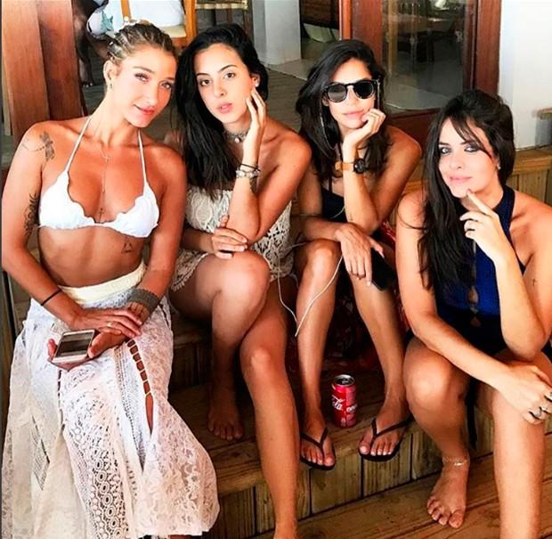 Gabriela Pugliesi e amigas (Foto: Reprodução/ Instagram)
