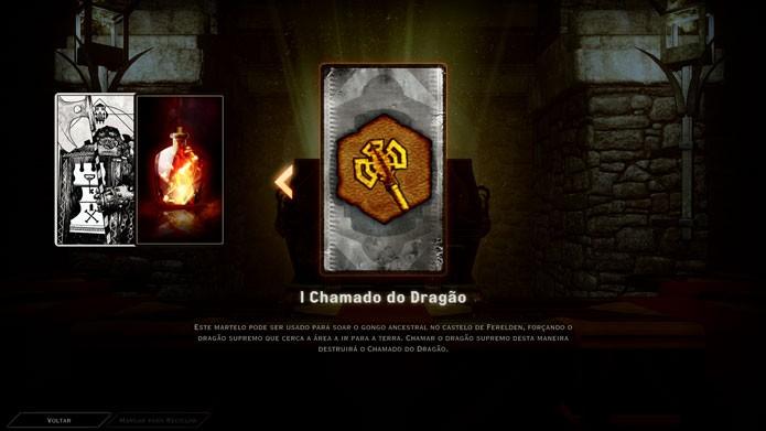 Use o Chamado do Dragão e derrote a criatura para conseguir itens e experiência (Foto: Reprodução/Tais Carvalho)