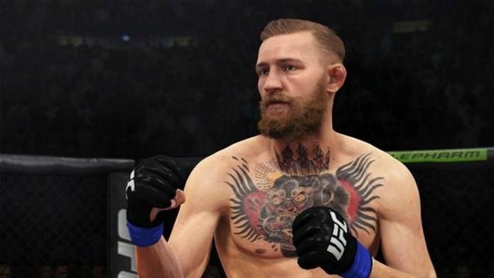 Conor McGregor exibe alguns de seus golpes em EA Sports UFC 2 (Foto: Reprodução/Softpedia)