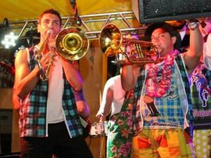 Banda Nazarentos anima o carnaval de Nazaré Paulista (Foto: Divulgação)