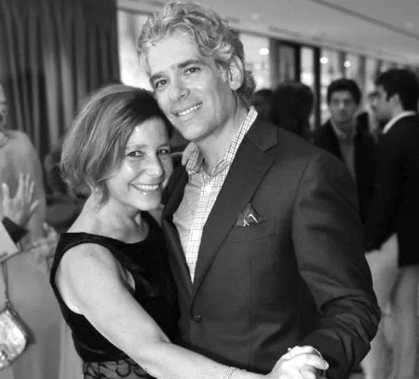Amy Krouse Rosenthal e Jason Rosenthal (Foto: Arquivo pessoal)