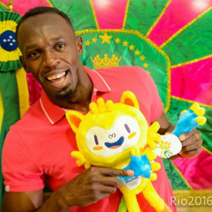 Usain Bolt, Bolt contra o tempo, Rio de Janeiro (Foto: Reprodução/Instagram)