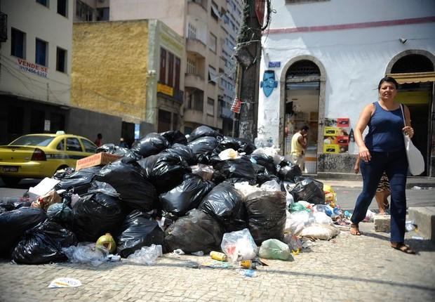 Lixo no Rio de Janeiro (Foto: Tomaz Silva/ Agência Brasil)