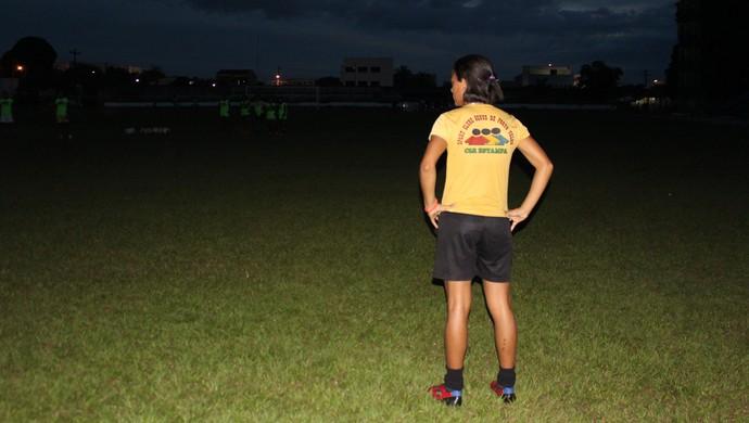 Karina Santos, 17 anos, Genus (Foto: Ivanete Damasceno)