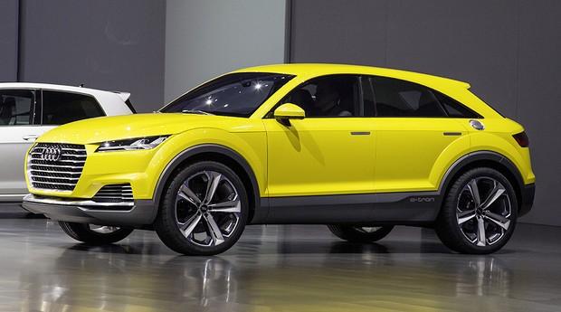 Audi TT Offroad Concept no Salão de Pequim (Foto: Audi)