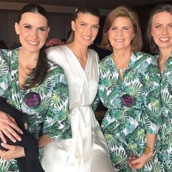 Estrelas internacionais chegam ao Brasil para casamento de empresário